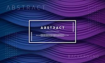 Abstracte, dynamische en gestructureerde paarse en donkerblauwe achtergrond