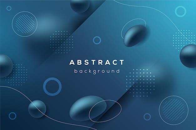 Abstracte dynamische geometrische achtergrond