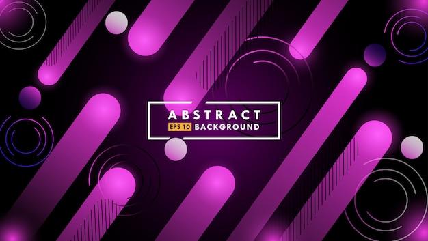 Abstracte dynamische gradiënt geometrische vormachtergrond