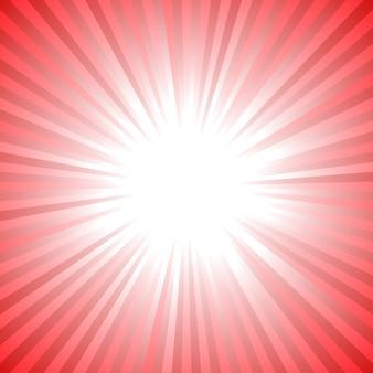 Abstracte dynamische starburst achtergrond