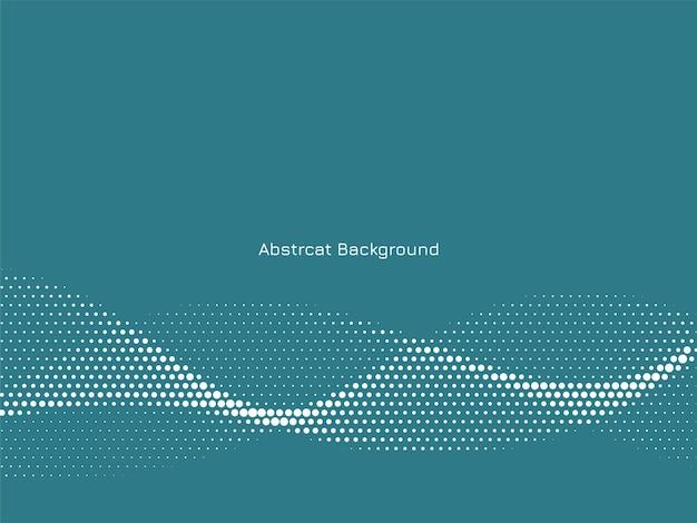 Abstracte elegante golvende halftone achtergrond