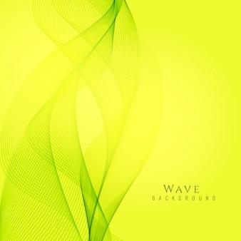 Abstracte elegante groene golf achtergrond
