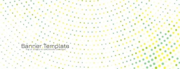 Abstracte elegante halftone ontwerp banner vector