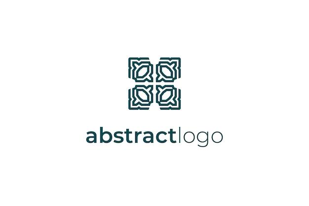Abstracte elegante logo pictogram illustratie