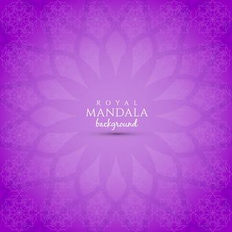 Abstracte elegante mandala ontwerp achtergrond
