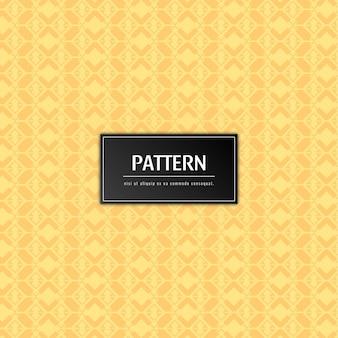 Abstracte elegante patroon gele achtergrond