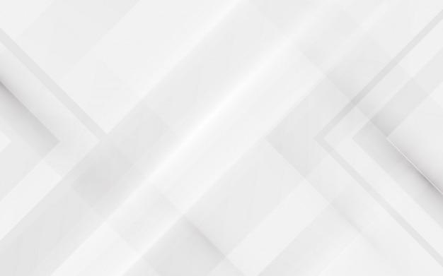 Abstracte elegante witte en geometrische achtergrond