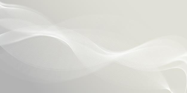 Abstracte elegante witte moderne golven achtergrond