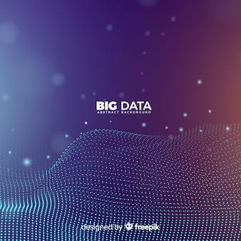 Abstracte en moderne big data-achtergrond