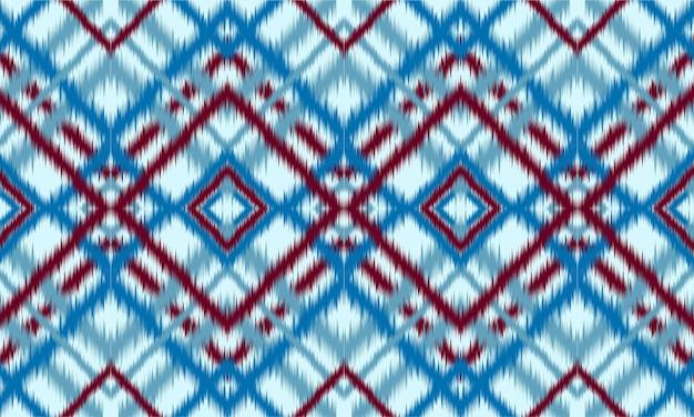 Abstracte etnische ikat chevron patroon achtergrond. ,tapijt,behang,kleding,inwikkeling,batik,stof,vector illustration.embroidery stijl.