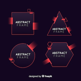 Abstracte frames instellen