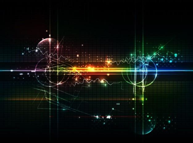 Abstracte futuristisch achtergrond vector kunst