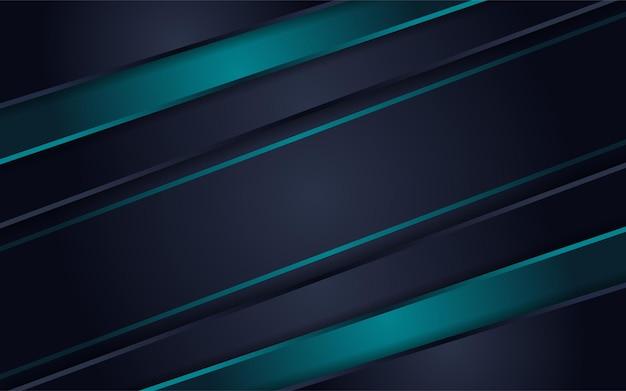 Abstracte futuristische donkergrijze achtergrond gecombineerd met groene elementencombinatie