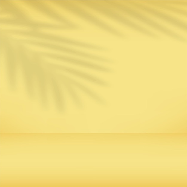 Abstracte gele gradiëntachtergrond.
