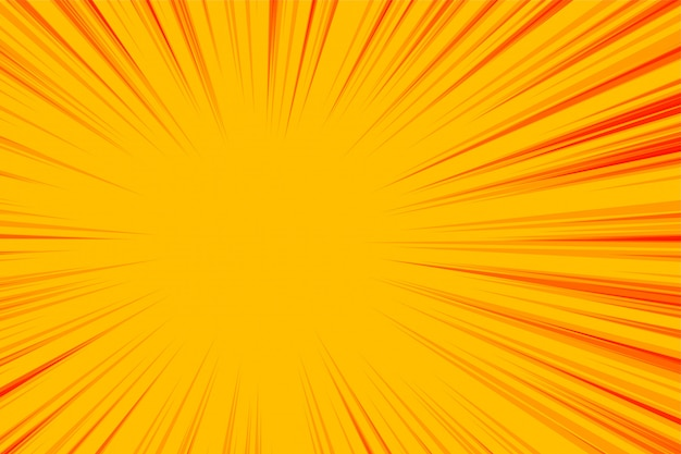 Abstracte gele zoomlijnen lege achtergrond