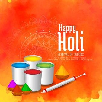 Abstracte gelukkige Holi Indian festival groet achtergrond