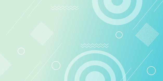 Abstracte geometrisch met achtergrond met kleurovergang
