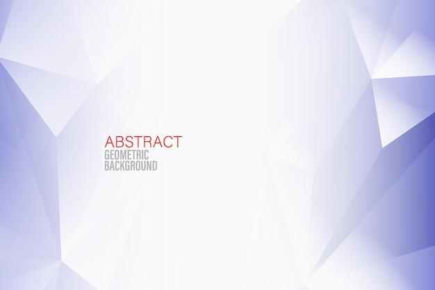 Abstracte geometrische achtergrond blauwe driehoeksachtergrond