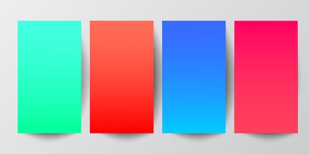Abstracte geometrische achtergrond in gradiënttonen