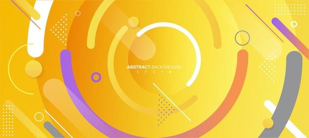 Abstracte geometrische achtergrond kleurrijke afbeelding