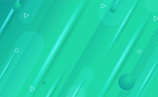 Abstracte geometrische achtergrond met blauwe gradatie