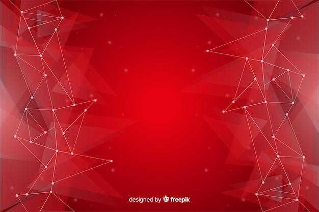 Abstracte geometrische achtergrond met driehoekspatroon