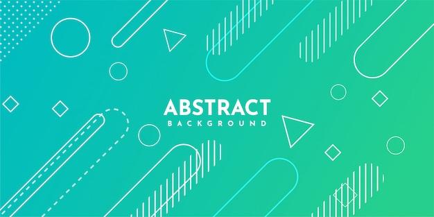 Abstracte geometrische achtergrond met dynamisch verloop