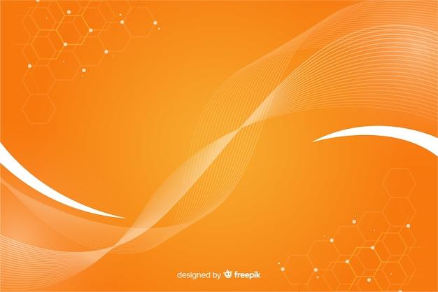 Abstracte geometrische achtergrond met honingraatpatroon