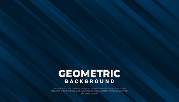 Abstracte geometrische achtergrond met kleurovergang in blauw papier gesneden stijl