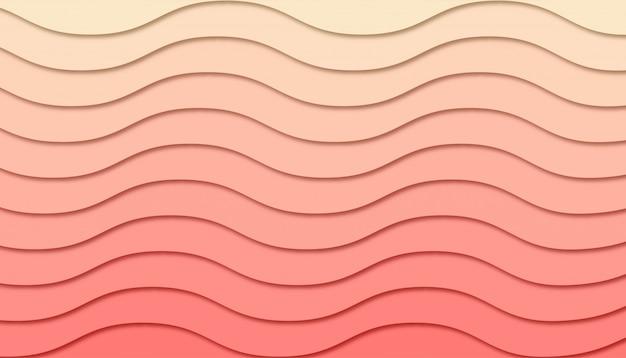Abstracte geometrische achtergrond met papier gesneden vormen