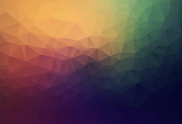 Abstracte geometrische achtergrond met veelhoeken.