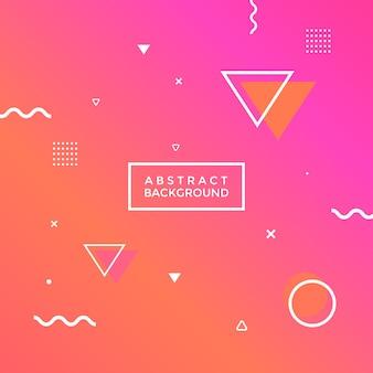 Abstracte geometrische achtergrond.
