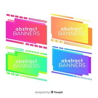Abstracte geometrische achtergronden