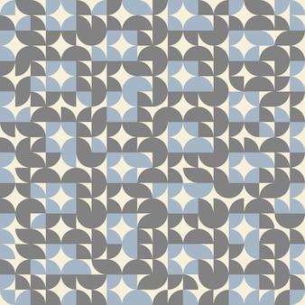 Abstracte geometrische de kleurenachtergrond van het cirkelpatroon retro.