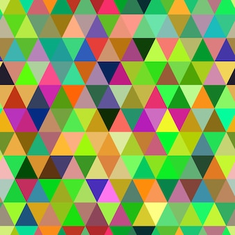 Abstracte geometrische driehoek naadloze patroon. kleur mozaïek achtergrond. vectorachtergrond. eps-10.