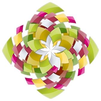 Abstracte geometrische figuur