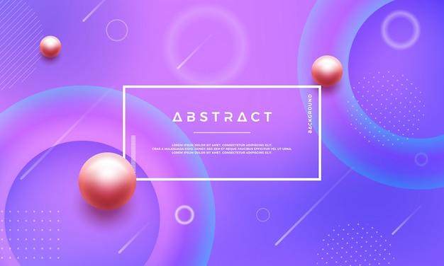 Abstracte geometrische gradiënt vorm vector achtergrond.