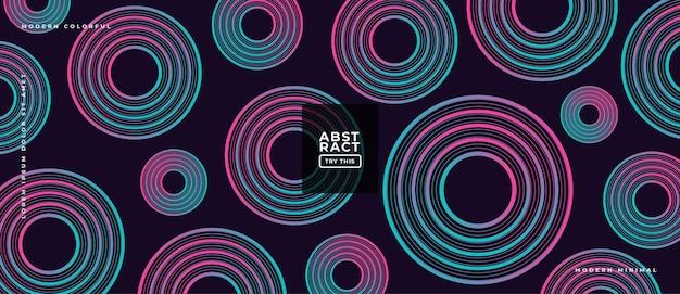 Abstracte geometrische gradiëntvormen op samenstellings dynamische illustratie achtergrond.