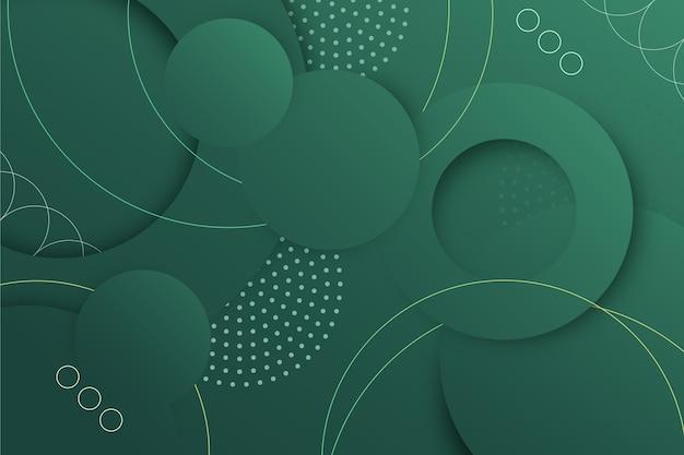 Abstracte geometrische groene achtergrond