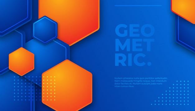Abstracte geometrische patroon en achtergrond