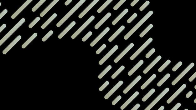 Abstracte, geometrische, shapesblue groene, lichtbruine, zwarte gradiëntbehang achtergrond vectorillustratie