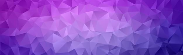 Abstracte geometrische veelhoek achtergrondbehang. header cover met driehoekige vorm laag polly kleurrijk