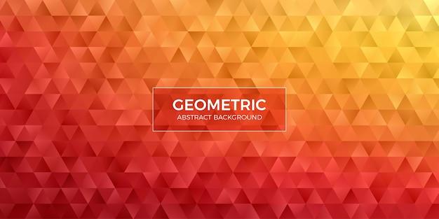 Abstracte geometrische veelhoek achtergrondbehang. header cover met driehoekige vorm laag polly