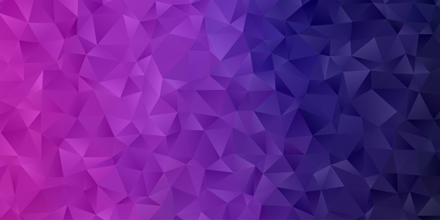 Abstracte geometrische veelhoek achtergrondbehang. laag polly patroon in driehoekvorm