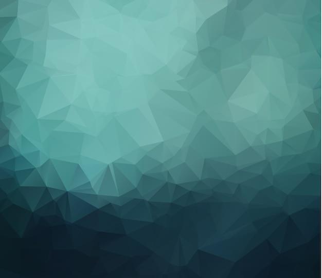 Abstracte geometrische verkreukelde driehoekige laag poly stijl