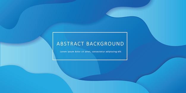 Abstracte geometrische vloeibare vorm achtergrond