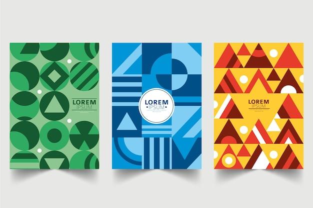 Abstracte geometrische vormen covers