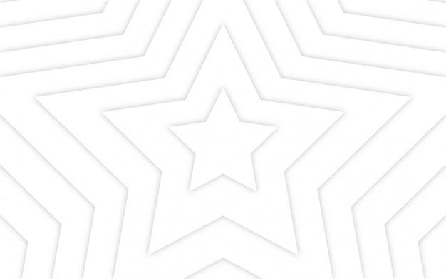 Abstracte geometrische witte lichte achtergrond