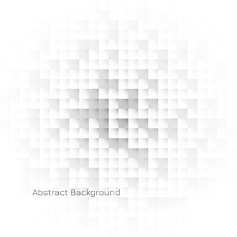 Abstracte geometrische witte mozaïekachtergrond