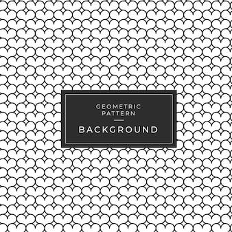 Abstracte geometrische zwart-wit patroonachtergrond